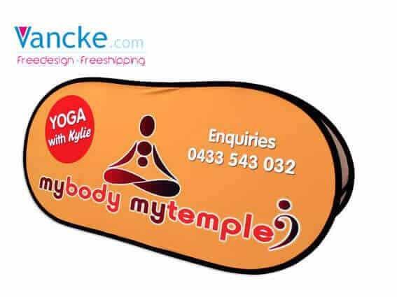 Free Design Free Design A-Frame Banner Stand Frame Banner Pop Up Advertising Signs