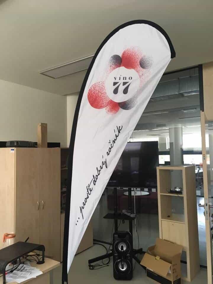 custom teardrop flag printing teardrop flag